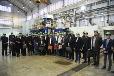 Youth Committee Members of Iranian Petroleum Industry Visit RIPI
