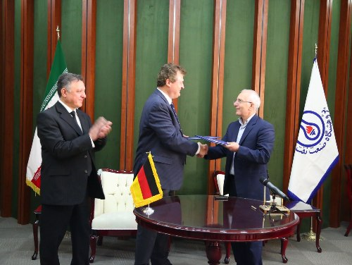 Iran's Research Institute of Petroleum Industry (RIPI) signed a memorandum of cooperation with the German company Raschig